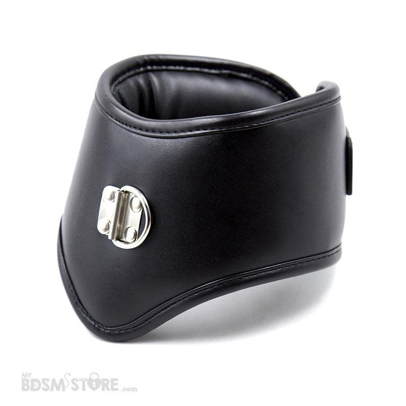 Collar de postura acolchado posture training entrenamiento BDSM corset cuero sintético