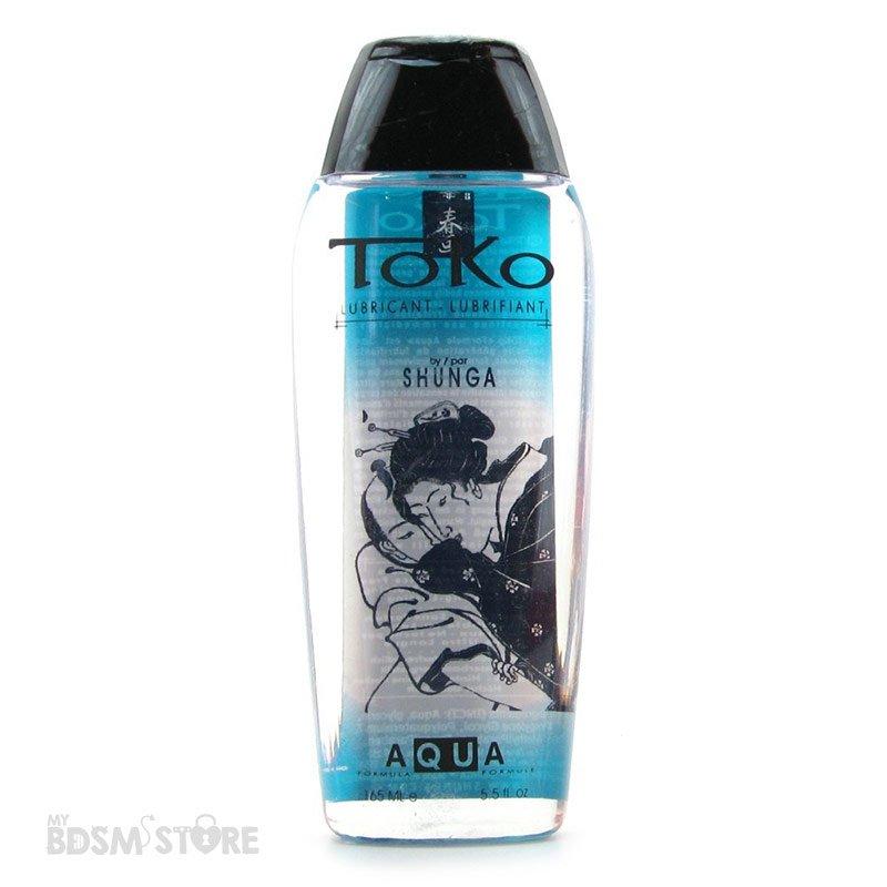 Lubricante Toko Aqua sexo y juegos deslizantes neutro seguro base de agua