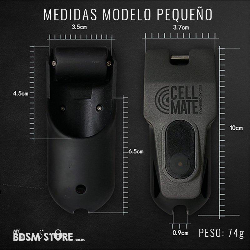 Cellmate Jaula de Castidad Remota controlada por App chastity device remote monitorizacion sumisos bottom sissy medidas corta